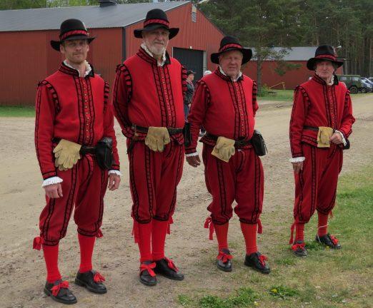 Svenska krig, en generalmönstring i Skillingaryd, del 3