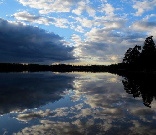 Himmel över Annebergssjön