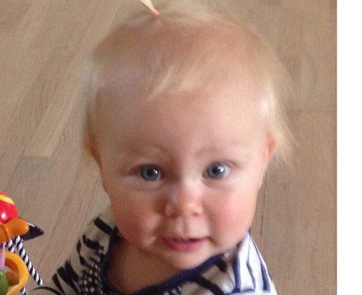 Alva Aronsson 1 år