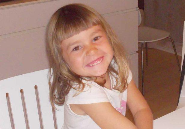 Amanda Mir 4 år