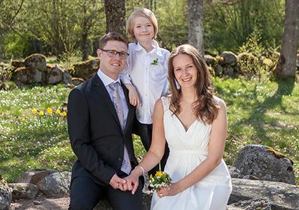 Nygifta – Marie och David