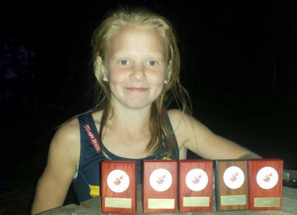 Emma avslutade med tre guld