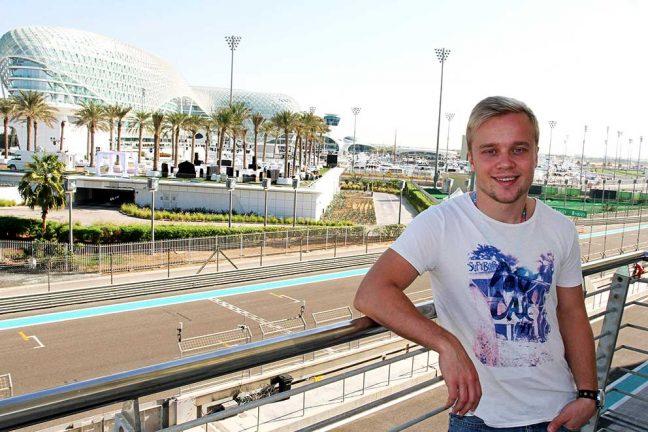 Felix Rosenqvist klar för GP2-test