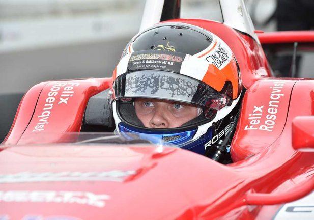 Felix står över Indy Lights-race