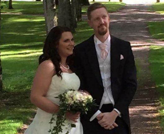Nygifta – Oscar och Gisela