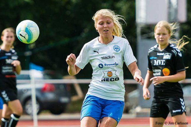 Viktig poäng för IFK-tjejer
