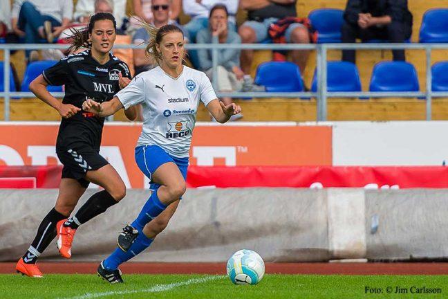 Starkt av IFK-damerna