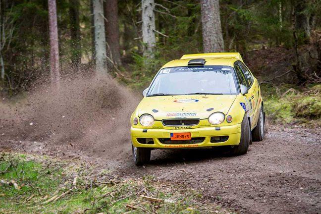Rapporterar om Sydsvenska Rallycupen