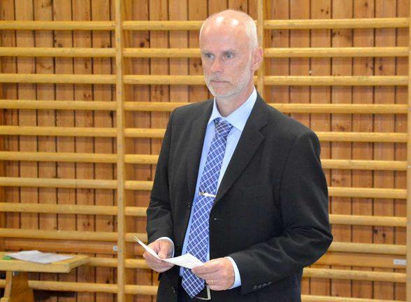 En alldeles särskild dag för nye rektorn i Vaggeryd