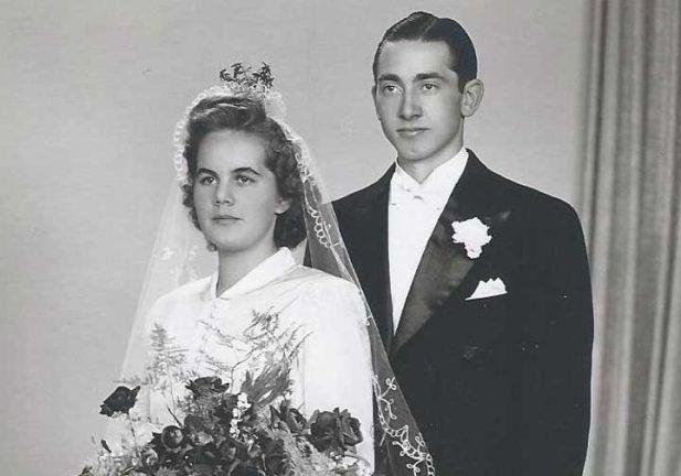 Järnbröllop Lilly och Rolf Lemke