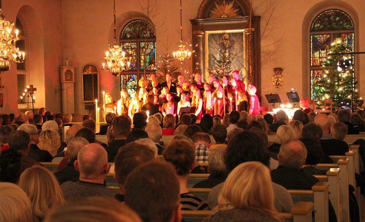 Julkonserten i Tofteryd dubbelt så bra  i år