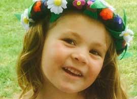 Alicia Larsson 4 år