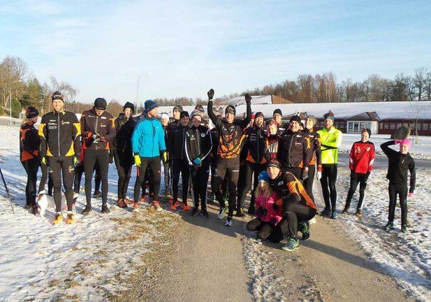 Nyårssprint i Värnamo