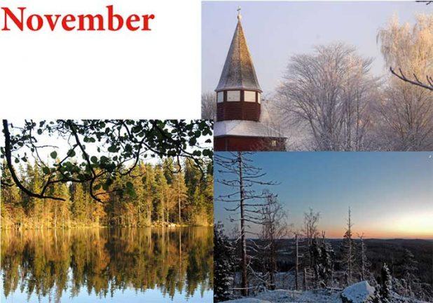Finalbilderna för november