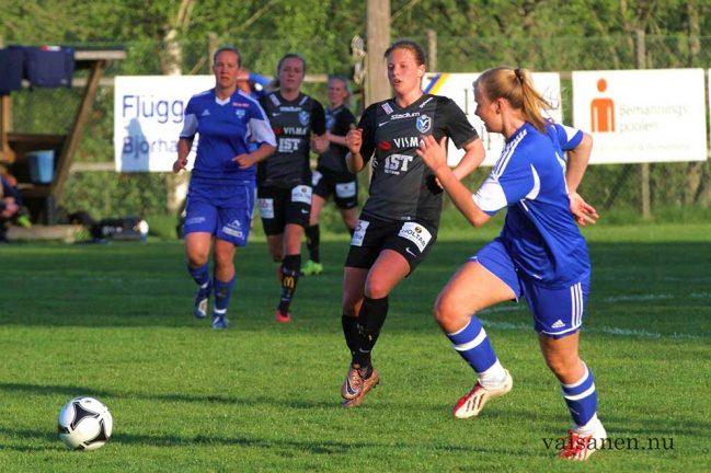 Anna från start i  U23-landslaget