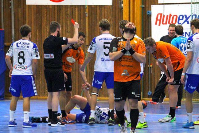 Handbollfest i Skillingaryds Arena