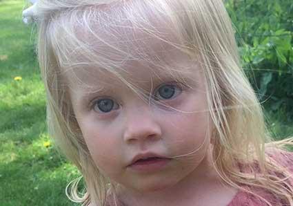 Astrid Pettersson 2 år