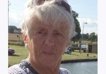 Birgitta Claesson 75 år