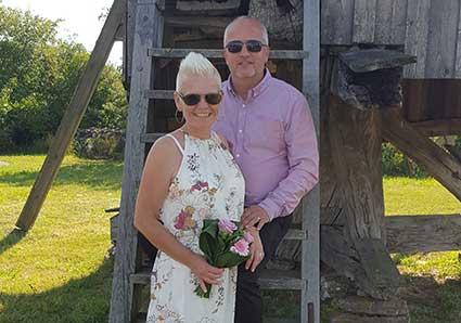 Nygifta – Loella och Mikael