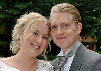 Nygifta –  Jonna och Jesper