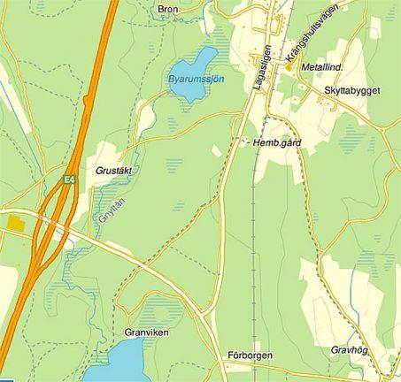 (V)-motion om bostäder vid Byarumssjön
