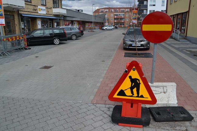 Utöka gångfartsområden
