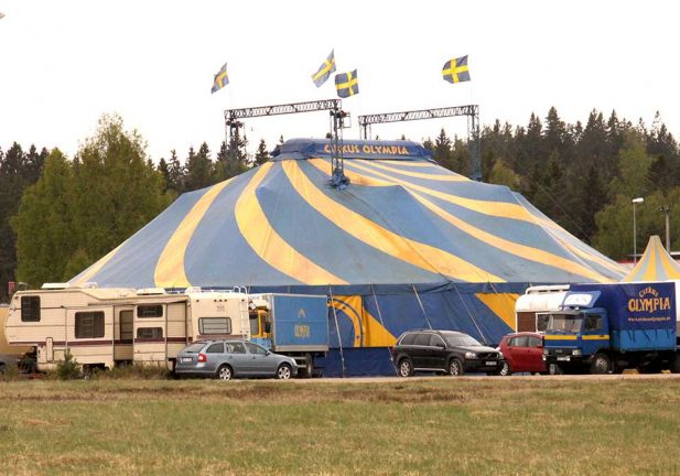 De vann cirkusbiljetter
