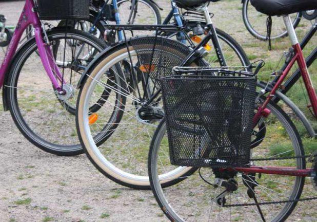 Familj drabbad av cykelstölder