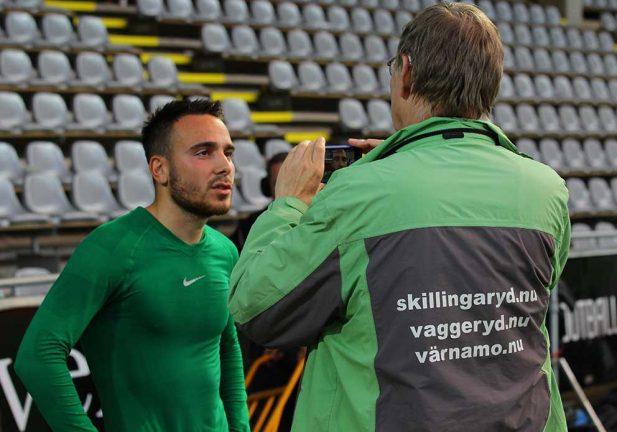 TV: Dzenis Kozica efter sköna segern