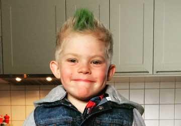 Ebbot Sandberg, Skillingaryd, 5 år