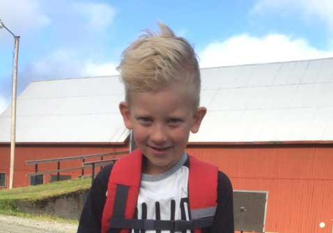 Eddie Johansson 6 år