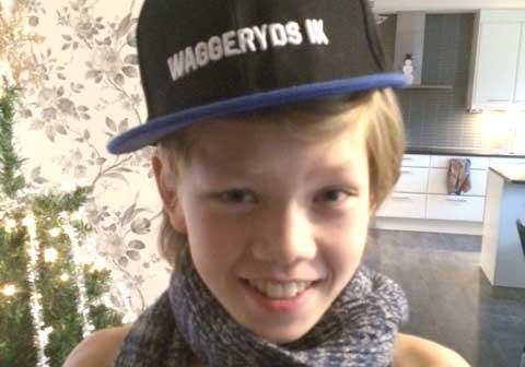 Emil Johansson 13 år