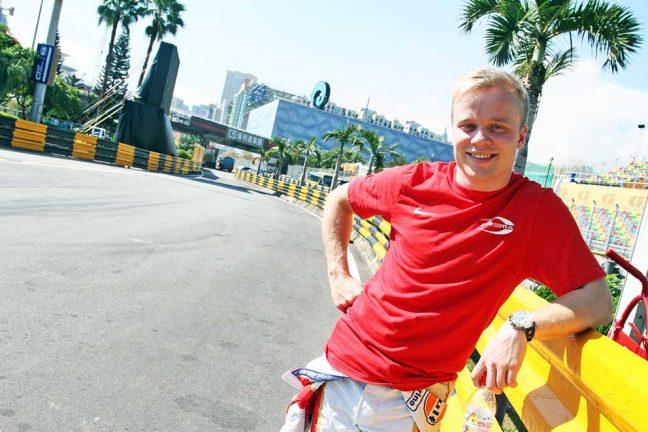 Felix redo för Macau Grand Prix