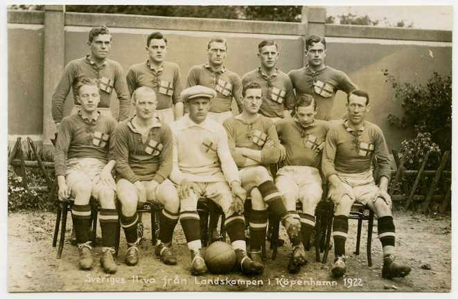 Danmark – Sverige i landskamp… 1922
