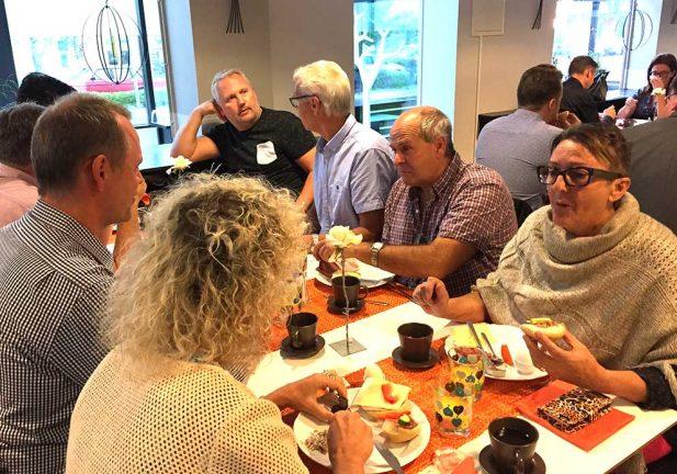 Näringslivsrådet bjöd in till frukostmöte