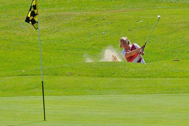 Två golftävlingar på Hook