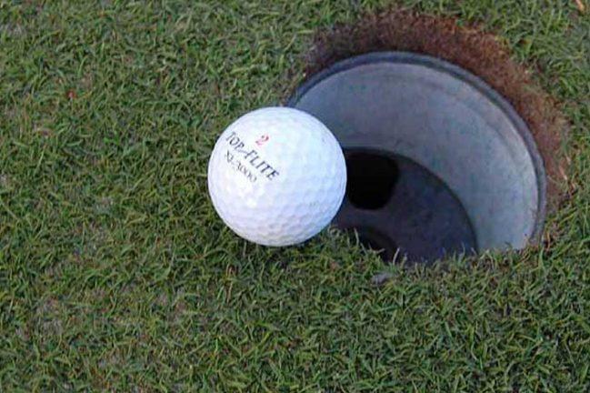 I morgon är det golfens dag