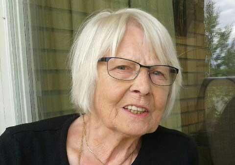 Gun-Britt  Karlsson 80 år