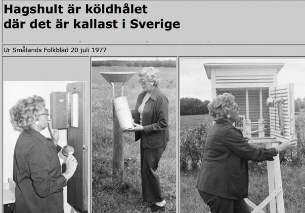 Kallast i Götaland med -12 grader