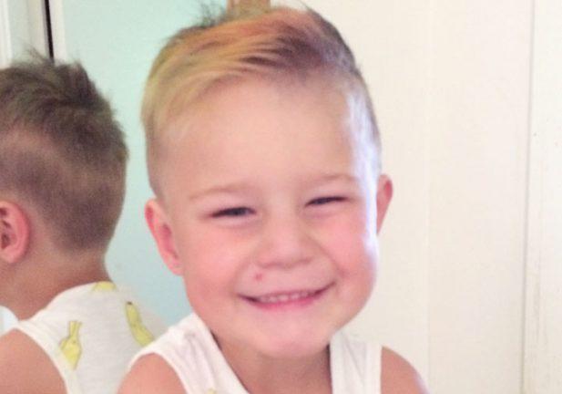 Harry Magnusson 5 år