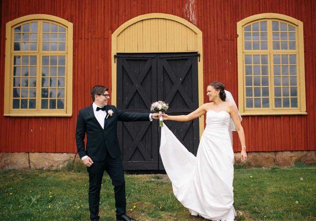 Nygifta – Helen och Johan