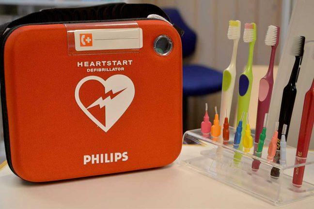 Inköp av hjärtstartare