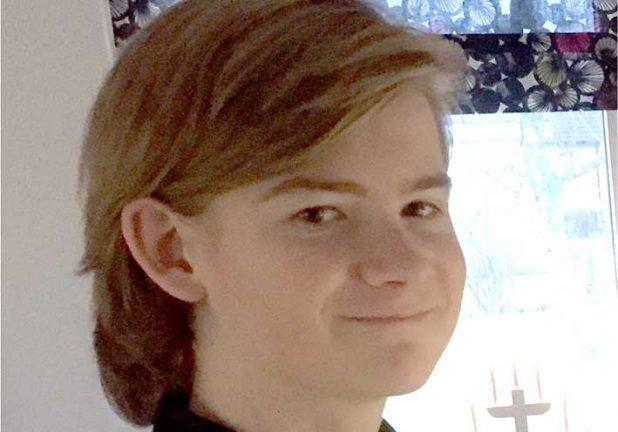 Hugo Fritz 14 år