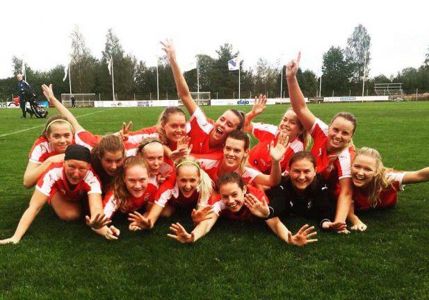 Skön känsla för IFK-tjejerna