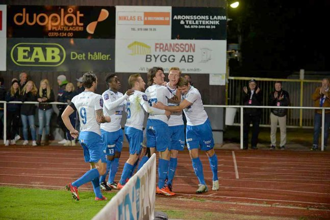 Direkt Ljungskile- IFK Värnamo 0–2 slut