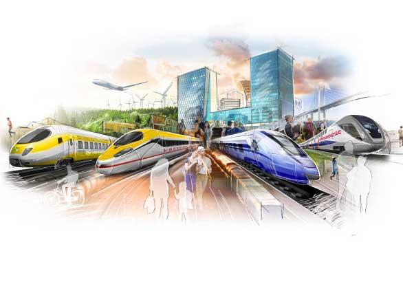 Storsamling för järnvägen