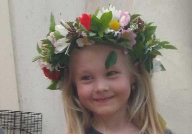 Judit Aldelius 6 år