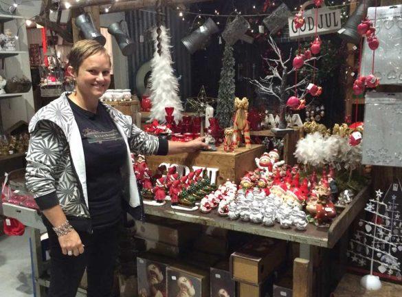 En försmak av  jul i Hok