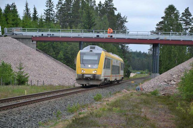 Försening för tågen Jönköping-Värnamo