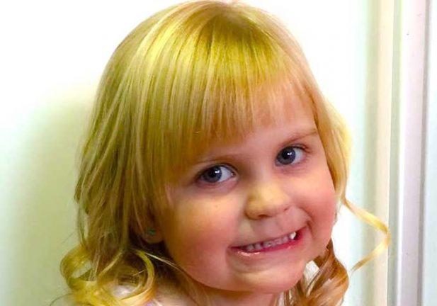 Kitty Hedman 5 år